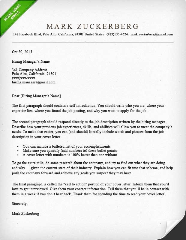 Free Templates for Cover Letters New Cover Letter Samples and Writing Guide