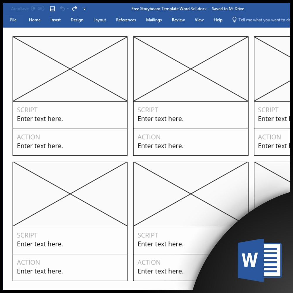 Free Templates for Microsoft Word Beautiful Free Storyboard Templates for Microsoft Word [cx]