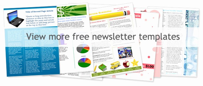 Free Templates for Microsoft Word Best Of Church Newsletter Templates Free Templates Resume