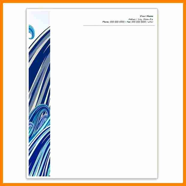 Free Templates for Microsoft Word Luxury 10 Letterhead Templates Word 2010