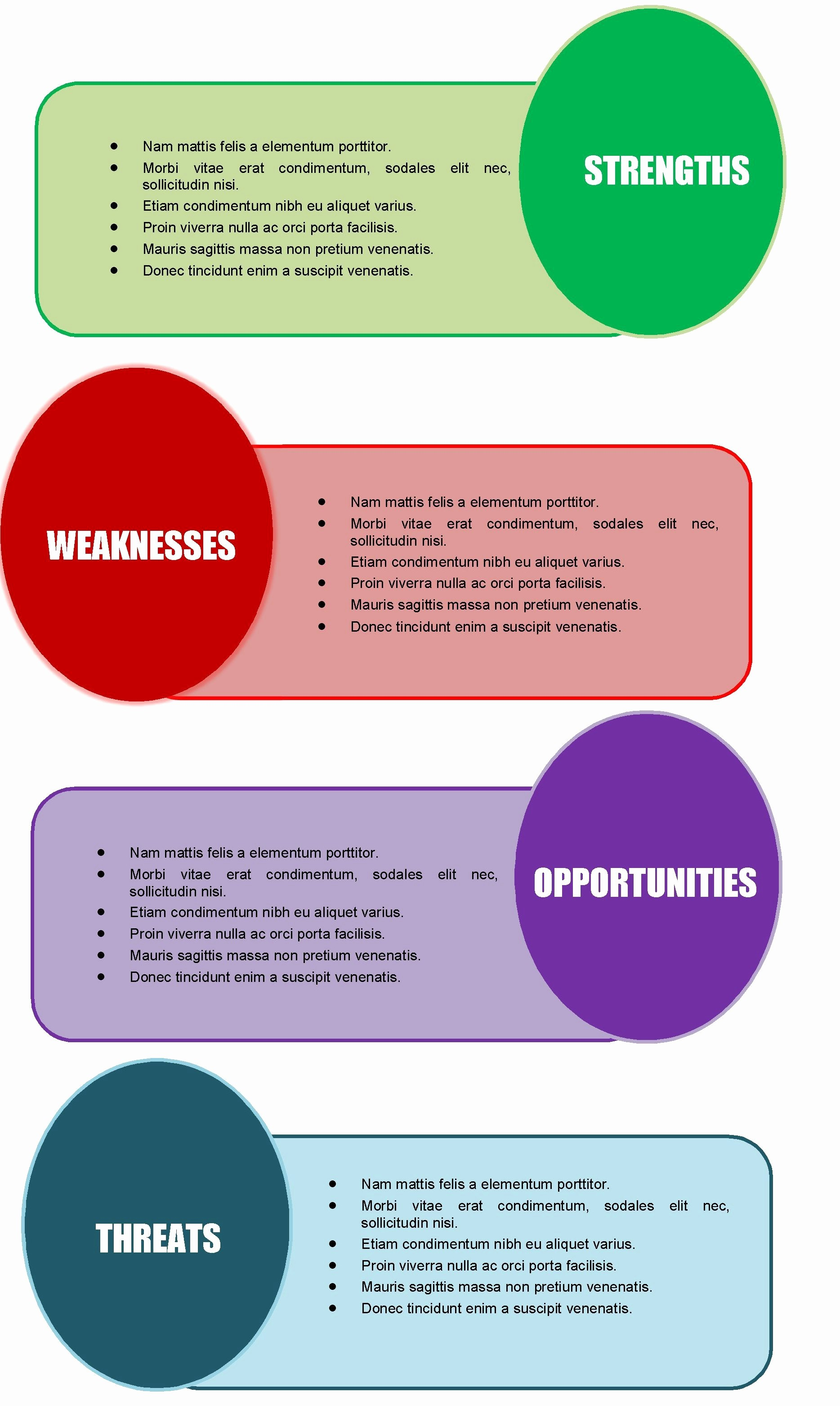 Free Templates for Microsoft Word Luxury 40 Free Swot Analysis Templates In Word Demplates