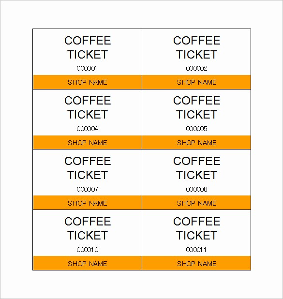 Free Ticket Template for Word Best Of 115 Ticket Templates Word Excel Pdf Psd Eps