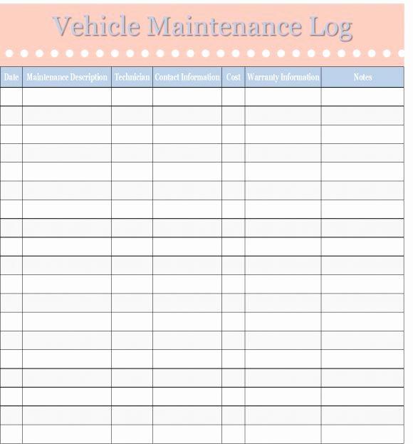 Free Vehicle Maintenance Log Pdf Fresh Best 25 Vehicle Maintenance Log Ideas On Pinterest