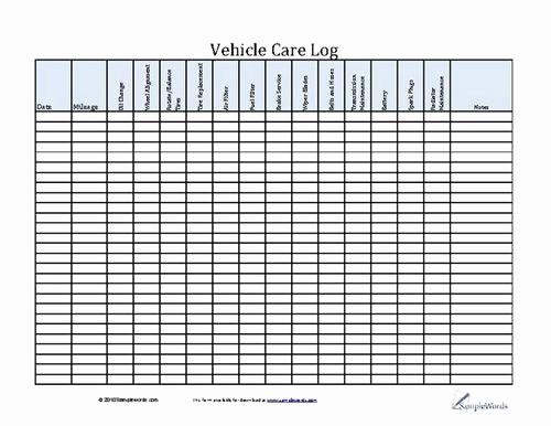 Free Vehicle Maintenance Log Pdf Inspirational Best 25 Vehicle Maintenance Log Ideas On Pinterest