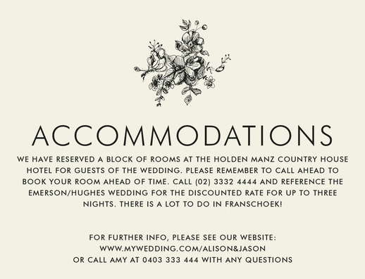 Free Wedding Accommodation Card Template Best Of Wedding Invitation Wording Wedding Invitation Wording