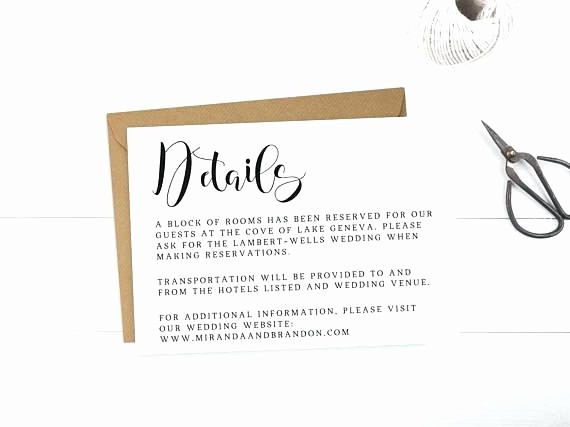 Free Wedding Accommodation Card Template Luxury Wedding Hotel Information Card Template – Jjbuildingfo