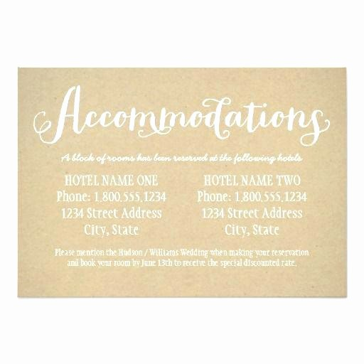 Free Wedding Accommodation Card Template Unique Wedding Rsvp Card Template