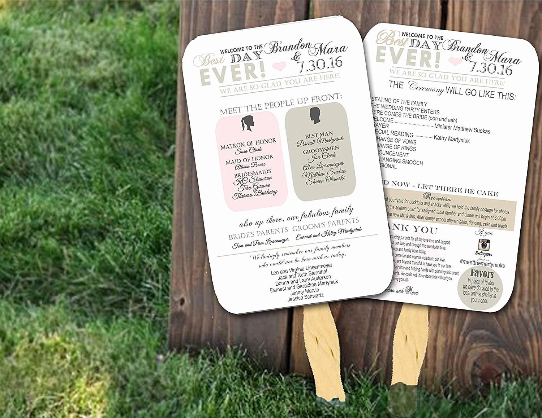 Free Wedding Ceremony Program Template Beautiful top 10 Best Wedding Programs to Buy Line