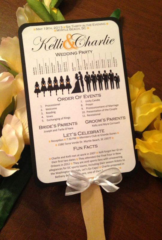 Free Wedding Ceremony Program Template Unique A Round Up Of Free Wedding Fan Programs B Lovely events