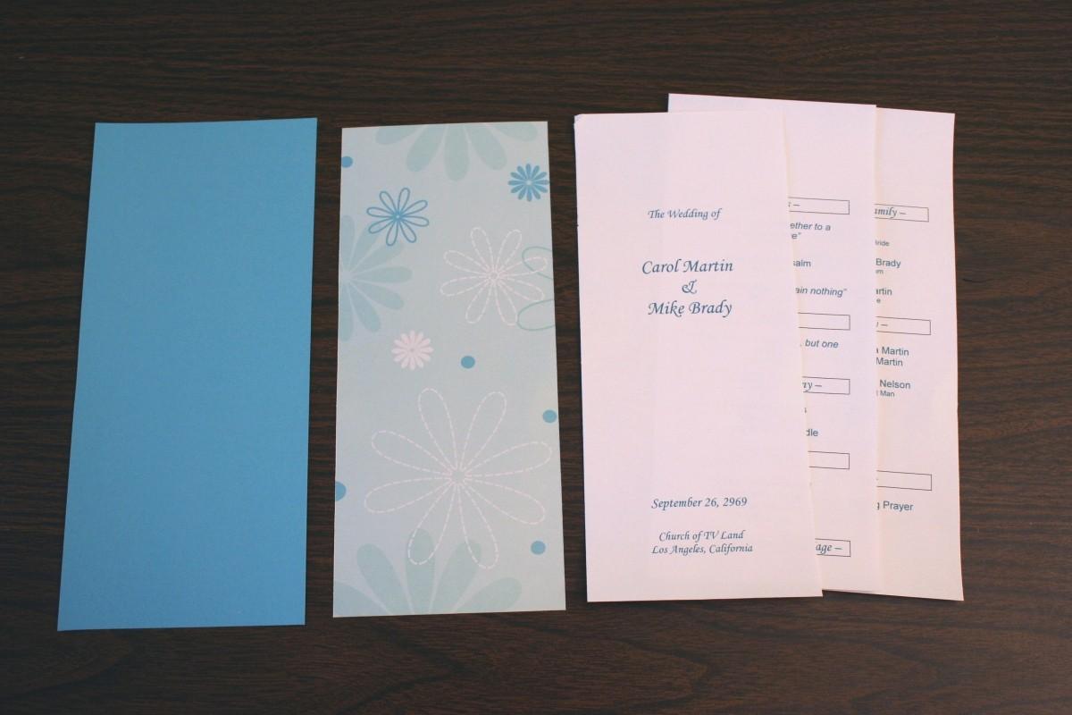 Free Wedding Program Template Downloads Luxury Wedding Program Template