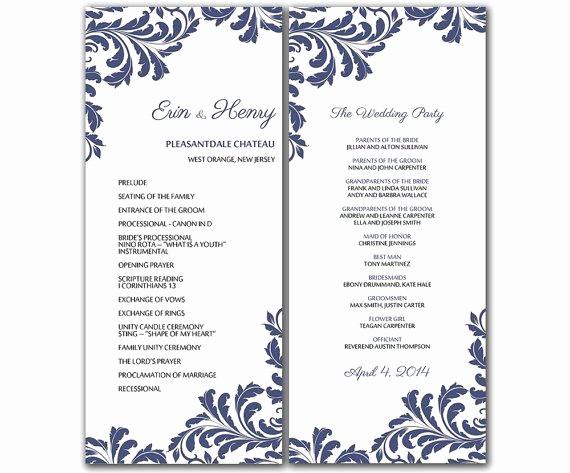 Free Wedding Templates Microsoft Word Elegant Microsoft Fice Wedding Program Templates