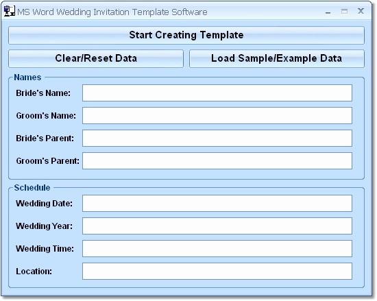 Free Wedding Templates Microsoft Word Fresh Word Design Gallery Category Page 1 Designtos