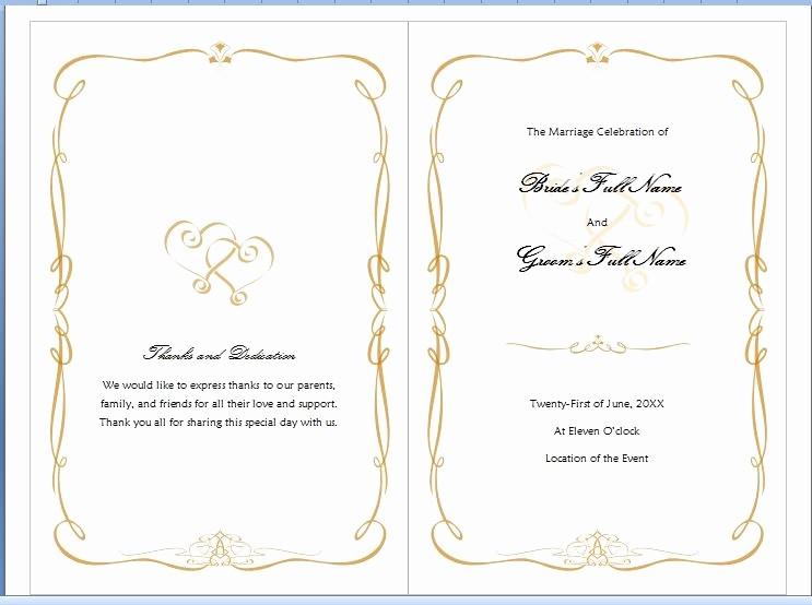Free Wedding Templates Microsoft Word Inspirational Microsoft Word Program Template Invitation Template