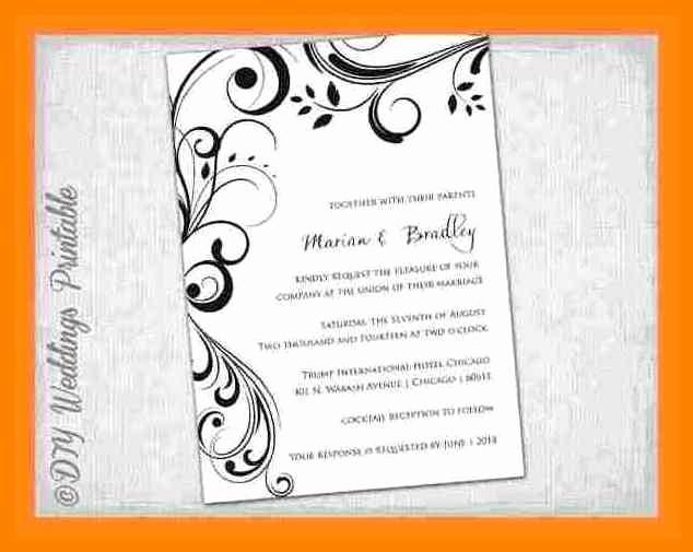 Free Wedding Templates Microsoft Word Lovely 15 Blank Invitation Templates for Microsoft Word