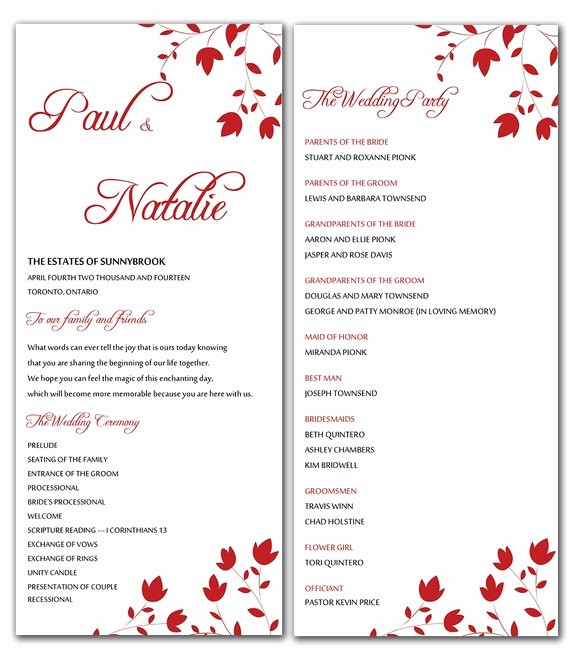 Free Wedding Templates Microsoft Word Luxury Unavailable Listing On Etsy