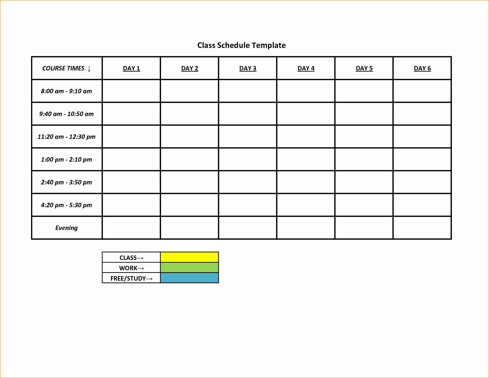 Free Weekly Work Schedule Template Elegant 3 Printable Work Schedule