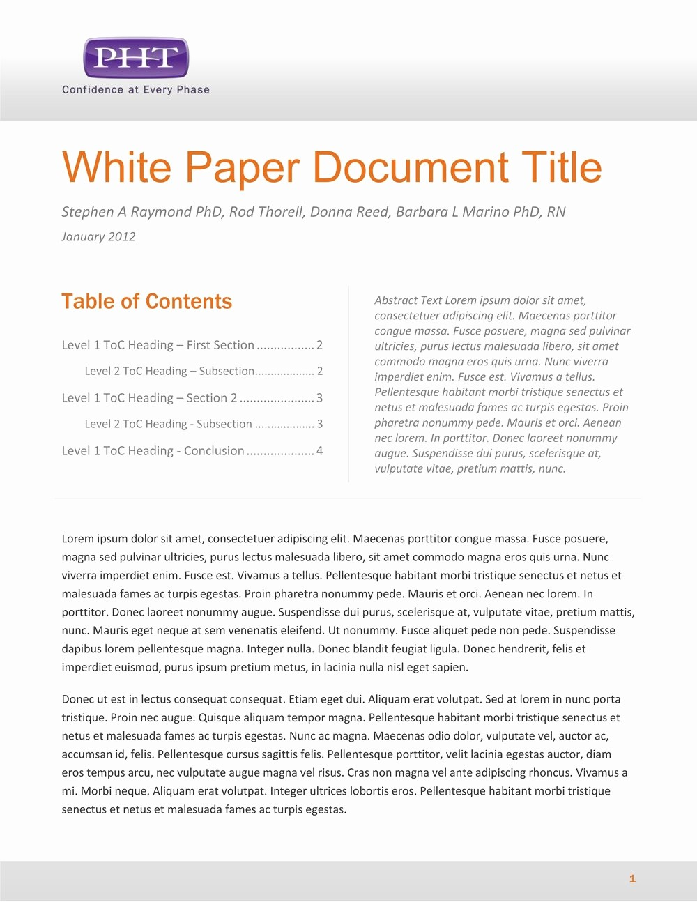Free White Paper Template Word Awesome White Paper Template