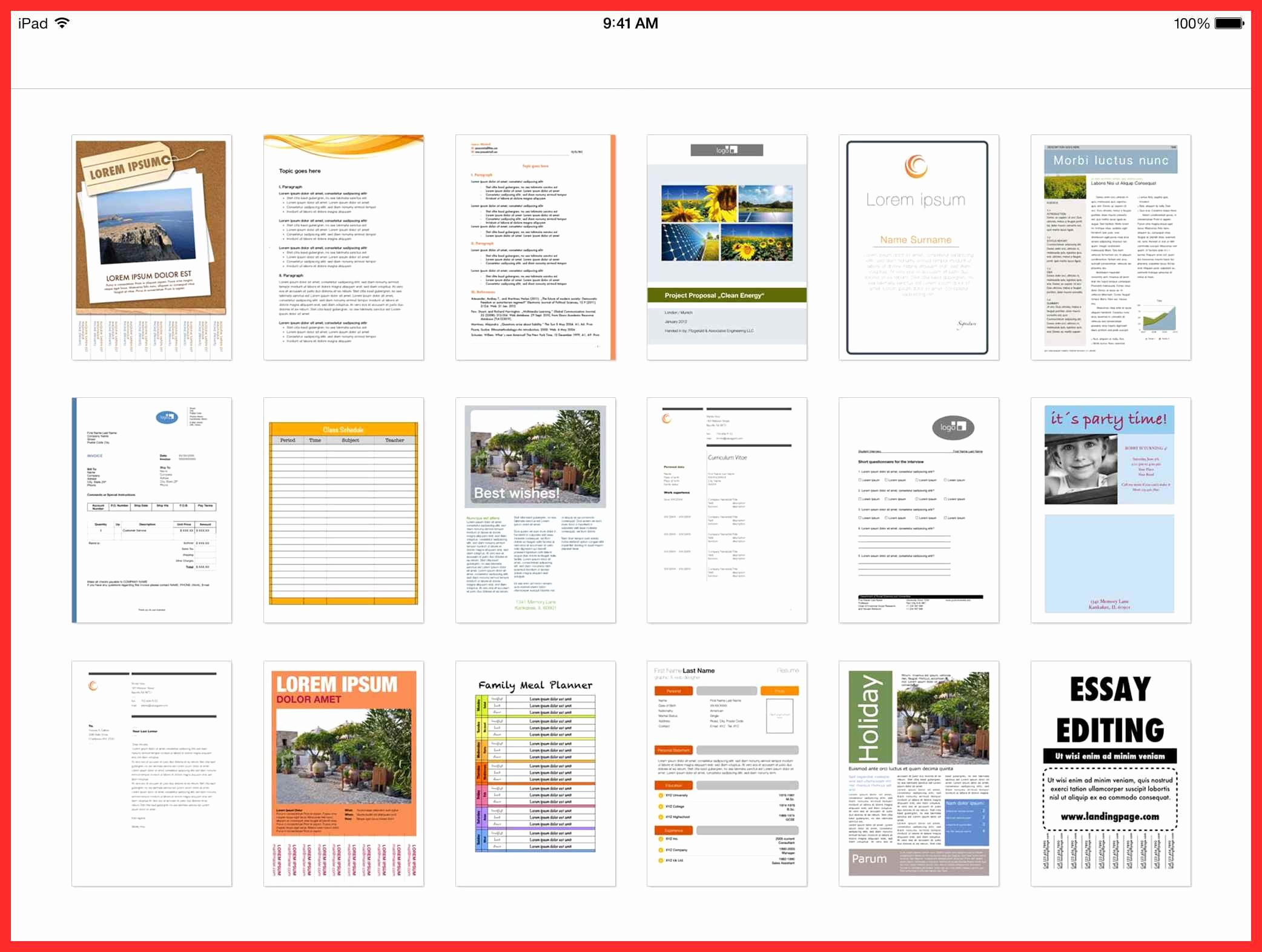 Free Word Document Templates Download Beautiful Word Document Layout