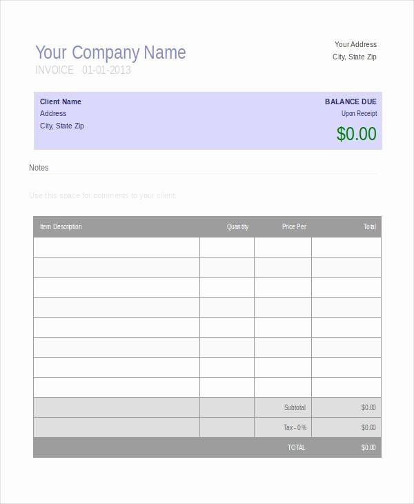 Free Word Document Templates Download Elegant Invoice Template 10 Free Word Pdf Document Downloads
