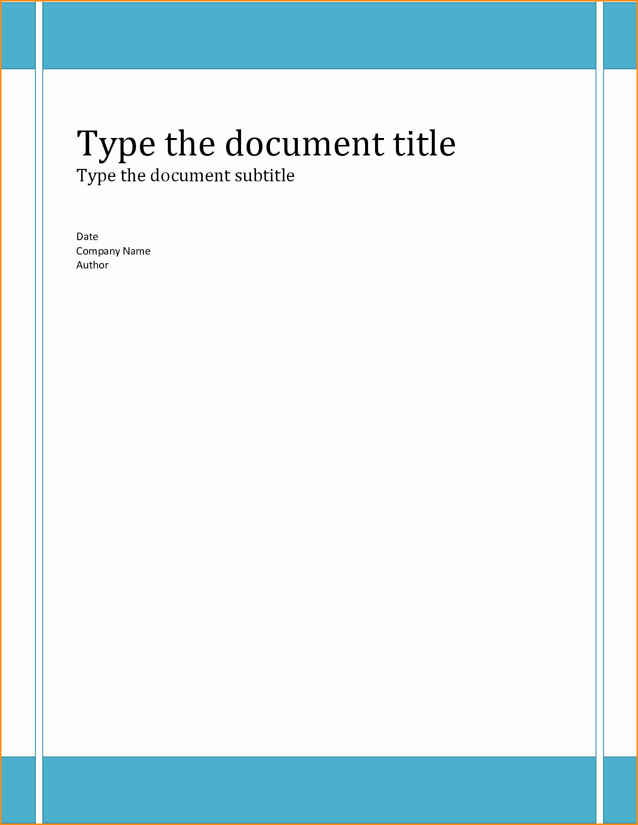 Free Word Document Templates Download Fresh 12 Free Word Document Templates