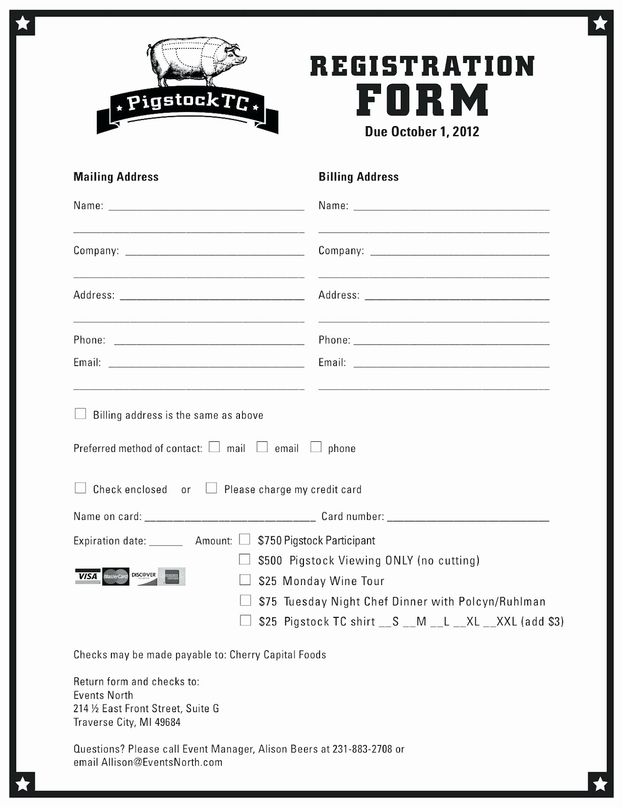 Free Word Document Templates Download Unique Sample Workshop Registration form Template