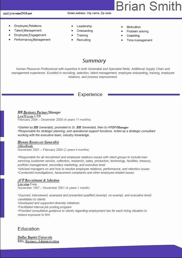 Free Word Resume Templates 2016 Luxury Resume format 2016