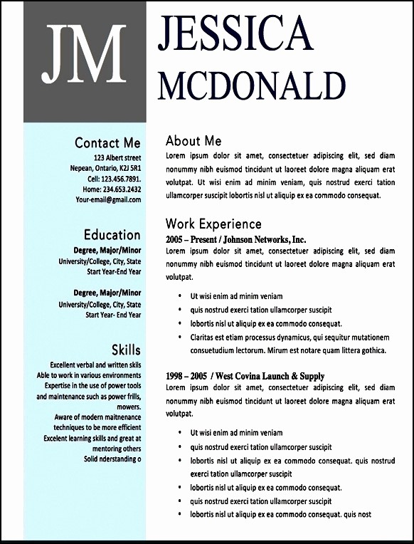Free Word Resume Templates 2016 Unique Free Modern Resume Templates Word Websitereports196 Web