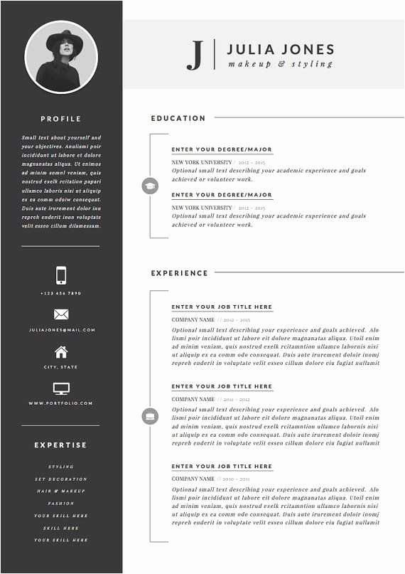 Free Word Resume Templates 2018 Awesome Free Download Creative Resume Templates Beautiful Creative