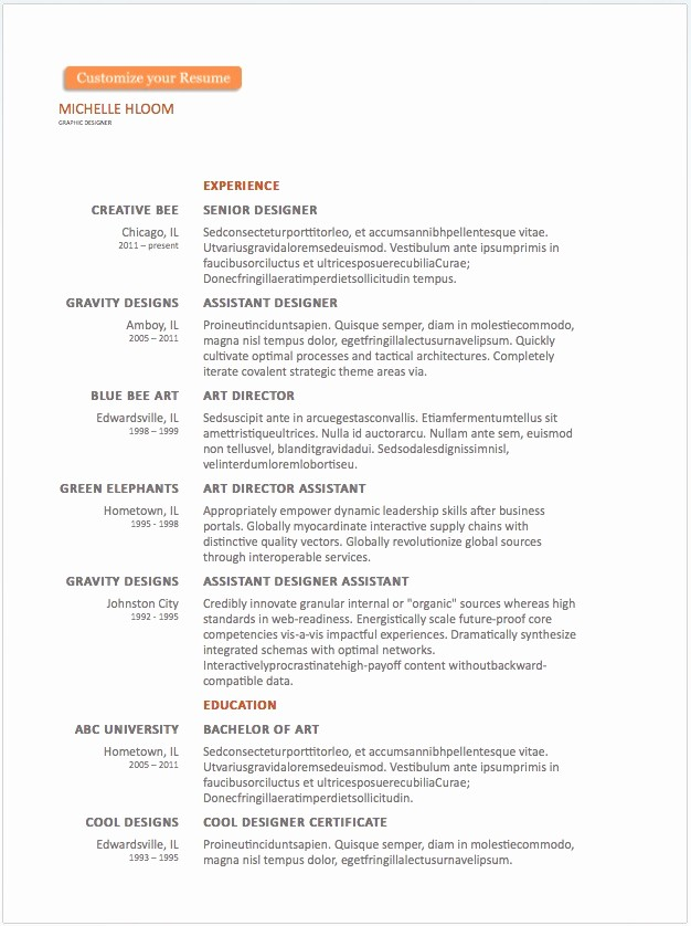 Free Word Resume Templates 2018 Fresh 20 Free Resume Word Templates to Impress Your Employer