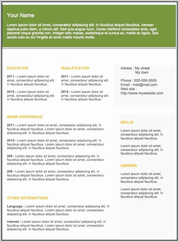 Free Word Resume Templates 2018 New Free Modern Resume Templates for Word Template Resume