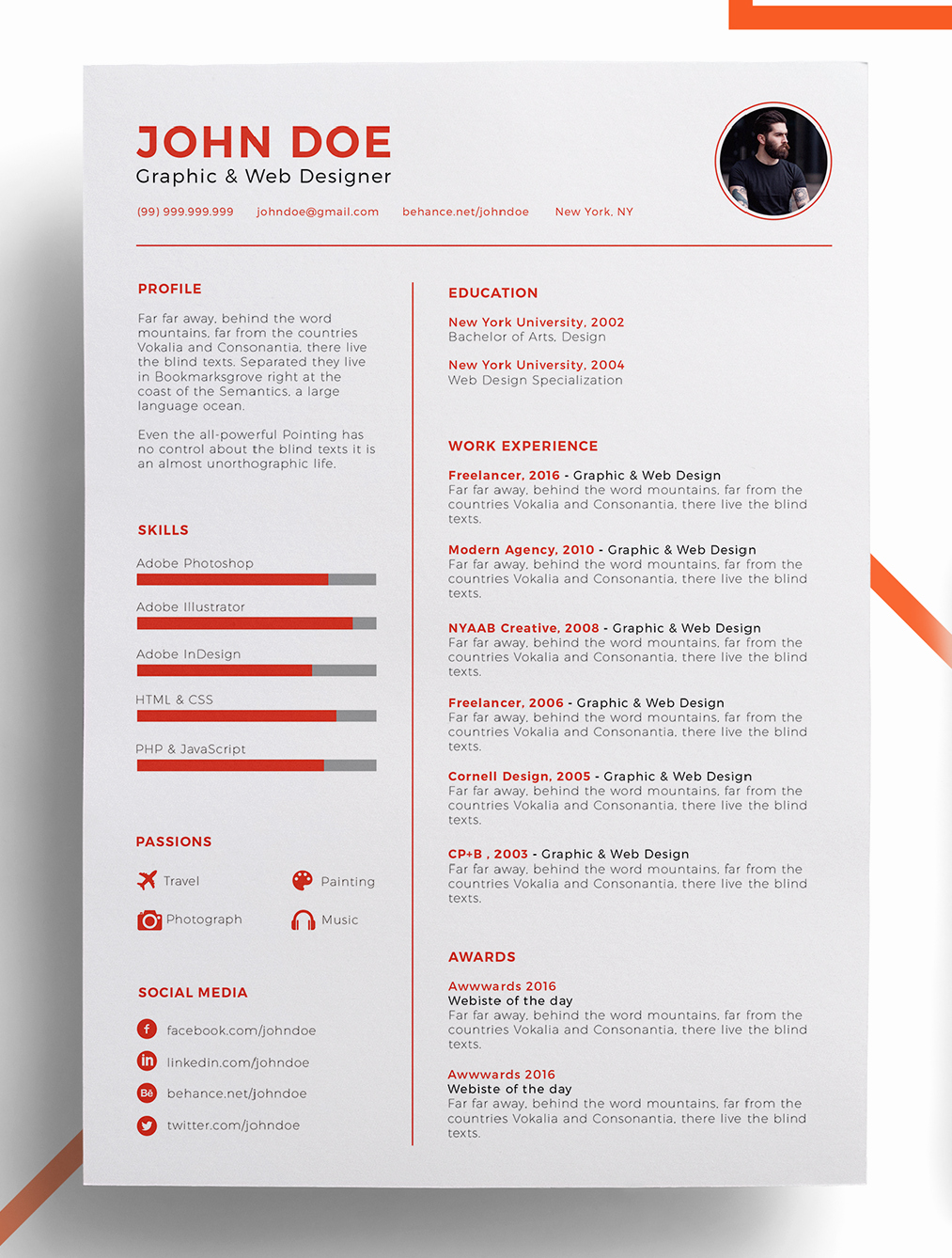 Free Word Resume Templates 2018 Unique Improve Your Resume Template 2019 to Get Noticed