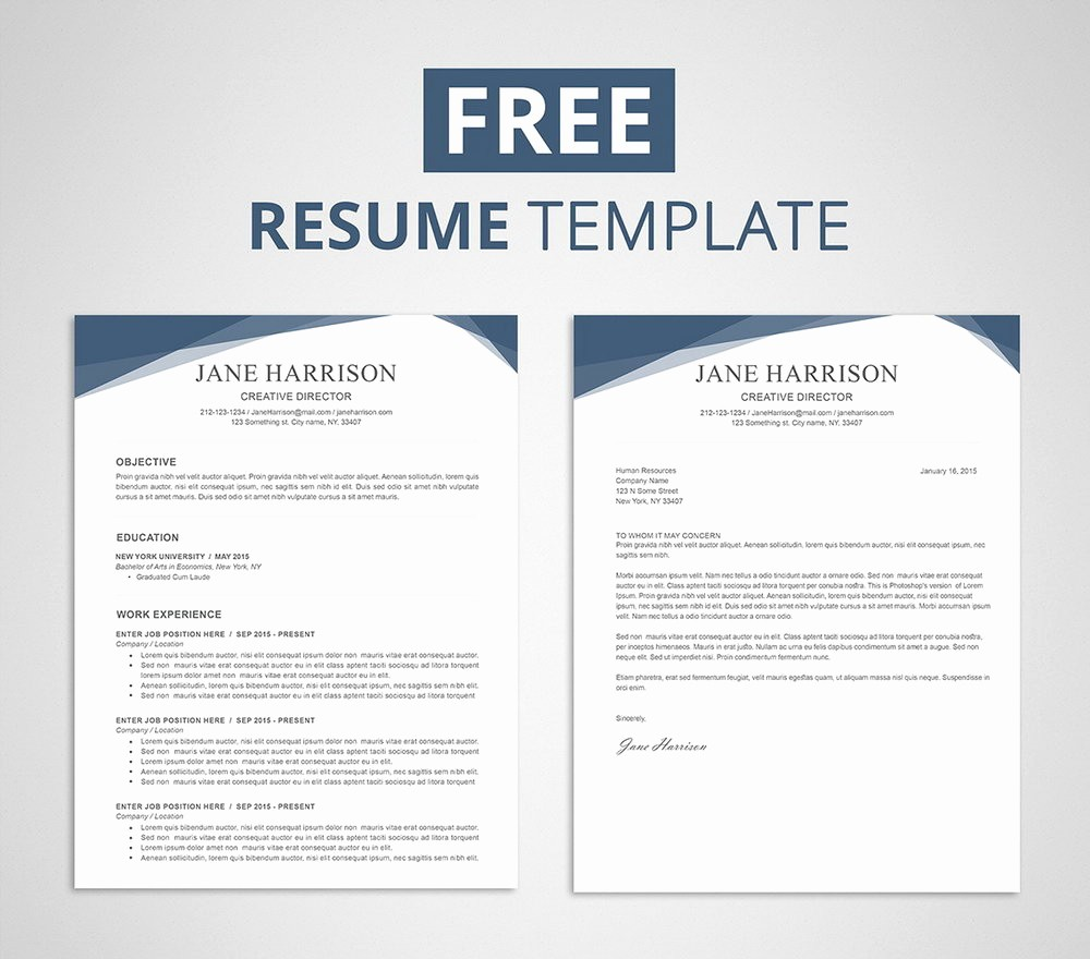 Free Word Resume Templates 2018 Unique Resume Templates for Word 2007