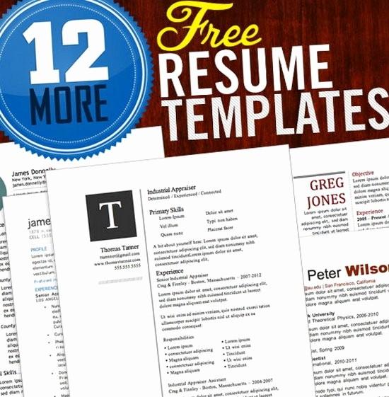 Free Word Resume Templates Download Unique Download 35 Free Creative Resume Cv Templates Xdesigns