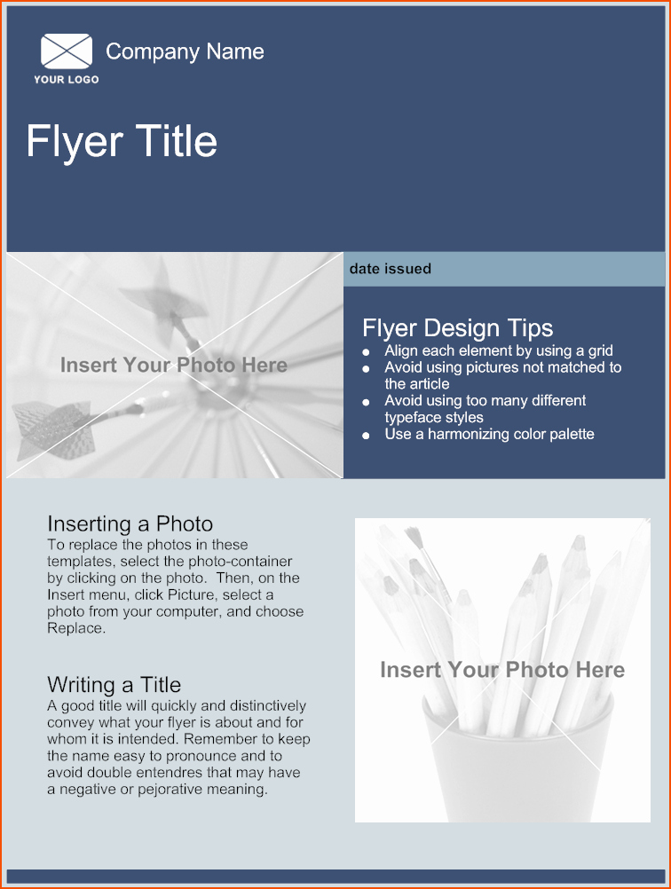Free Word Templates for Flyers New 5 Free Online Flyer Templates Bookletemplate