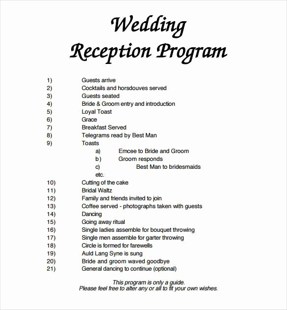 Free Word Wedding Program Template Unique 67 Wedding Program Template Free Word Pdf Psd