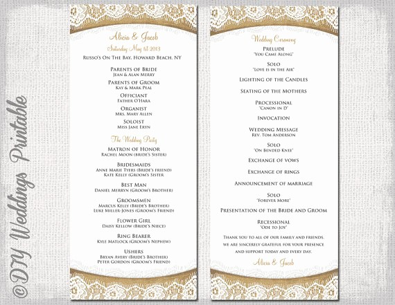 Free Word Wedding Program Template Unique Wedding Program Templates Free Microsoft Word