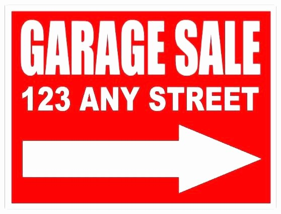 Free Yard Sale Signs Templates Awesome Garage Sale Sign Image – Adiantechnologiesfo