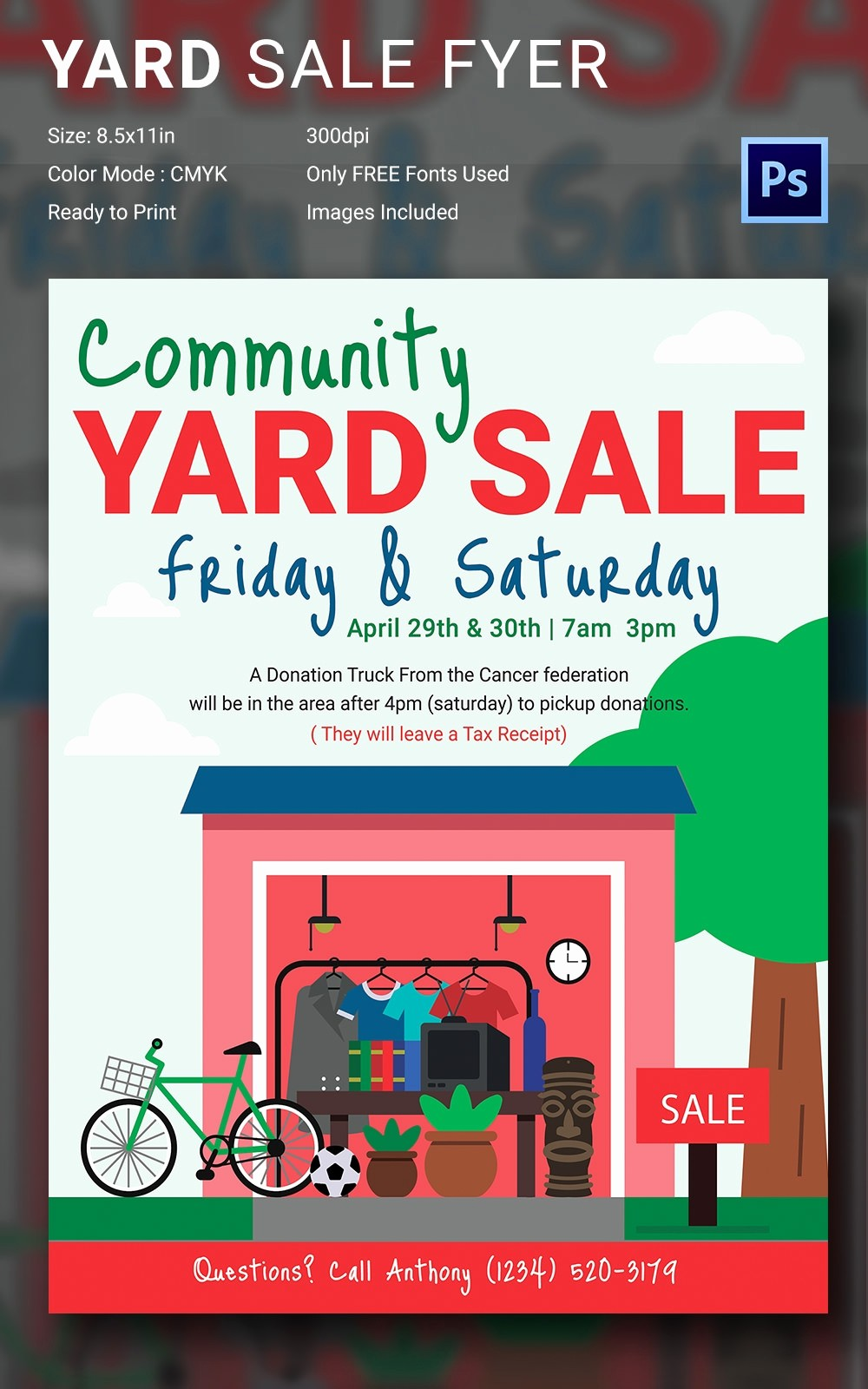 Free Yard Sale Signs Templates Best Of 14 Best Yard Sale Flyer Templates & Psd Designs