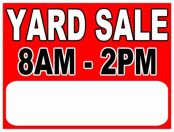 Free Yard Sale Signs Templates Inspirational Garage Sale 112