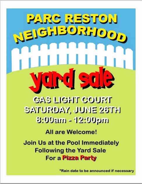 Free Yard Sale Signs Templates Lovely 15 Free Yard Sale Flyers Great Help Demplates