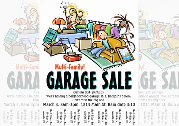 Free Yard Sale Signs Templates Luxury Garage Sale Flyer Template Yourweek Eca25e