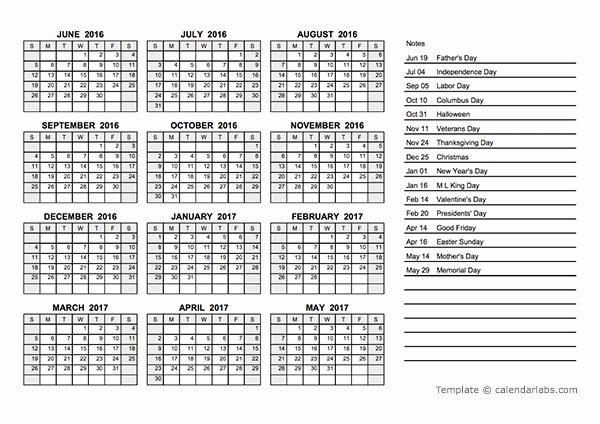 Free Year Calendar Template 2016 Elegant 2016 Yearly Calendar Pdf Free Printable Templates
