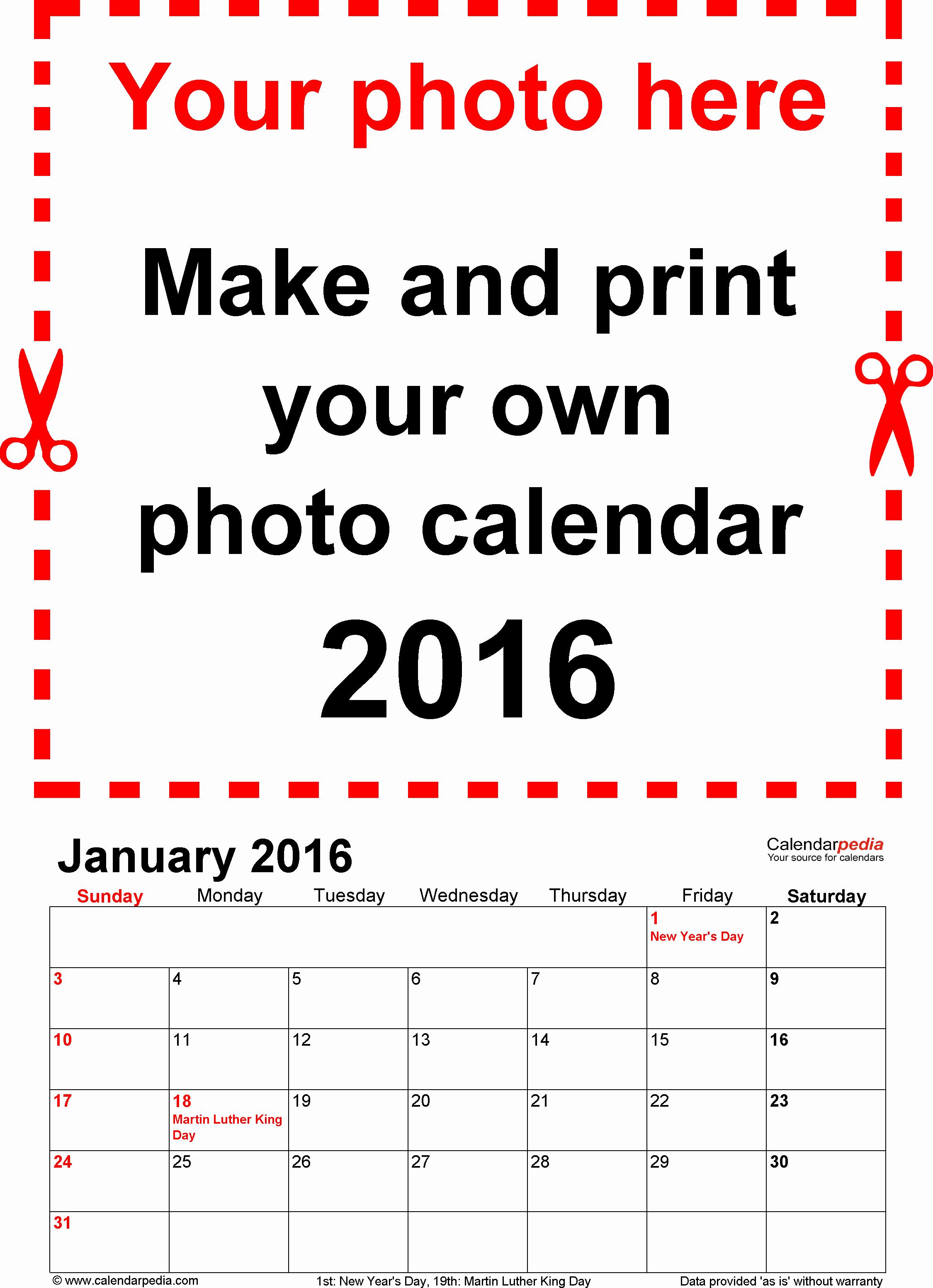 Free Year Calendar Template 2016 New Calendar 2016 Free Printable Pdf Templates