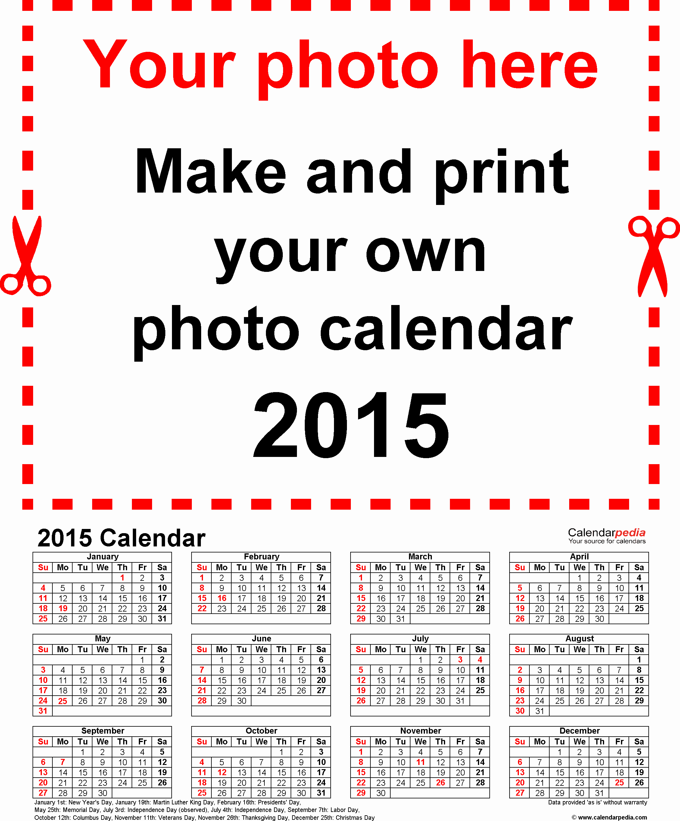 Free Yearly Calendar Templates 2015 Unique Printable Yearly Calendar 2015 – 2017 Printable Calendar