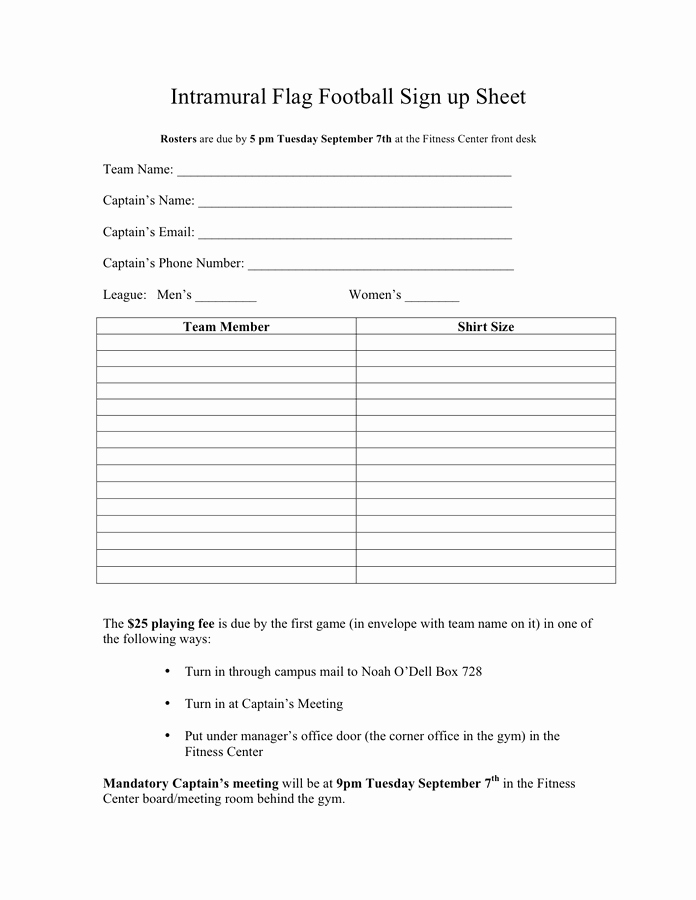 Front Desk Sign In Sheet Luxury Basketball Sign Up Sheet Template In Word and Pdf formats