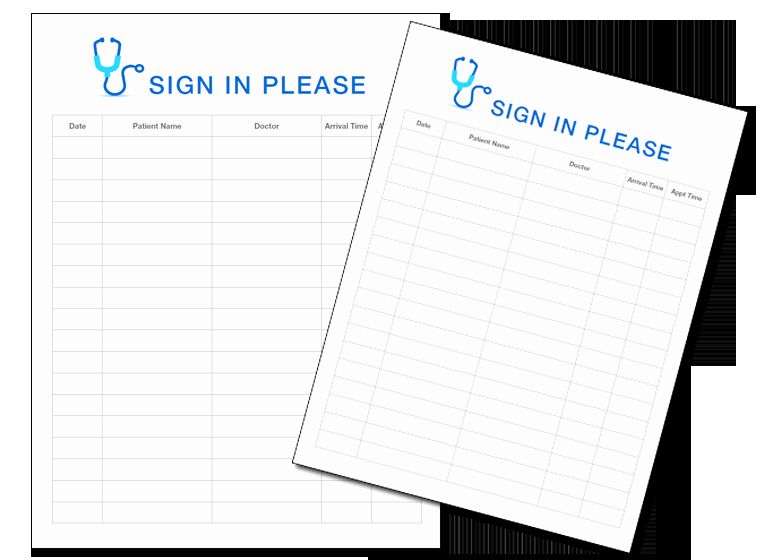 Front Desk Sign In Sheet New Sign In Sheets Blank Sign In Sheet Templates Front Cover