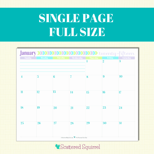 Full Year Calendar Template 2015 Awesome 2015 Calendar Printables You asked I M Answering