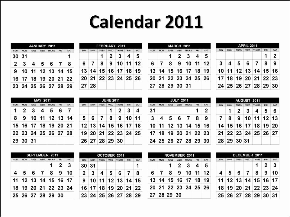 """Full Year Calendar Template 2015 Elegant Search Results for """"2011 Calendar Printable Full Page Page"""