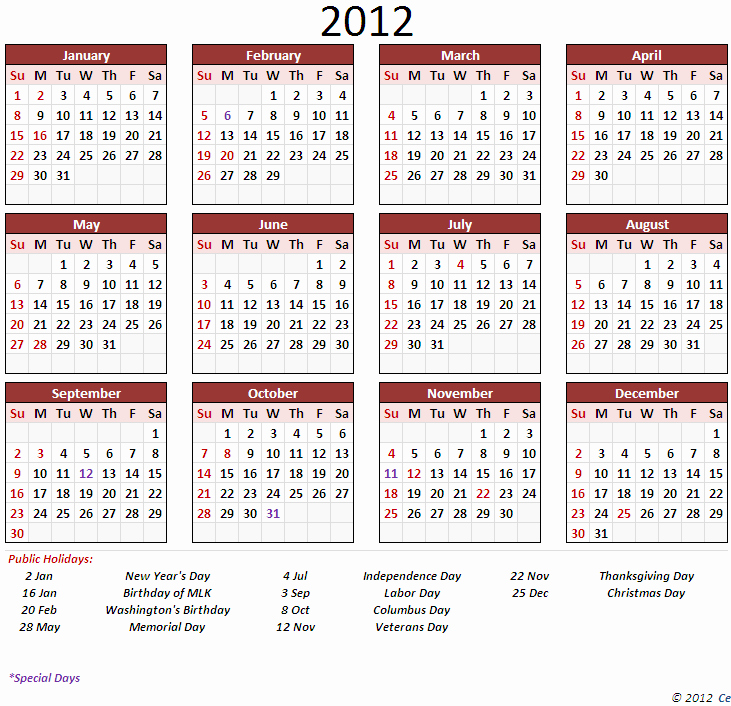 Full Year Calendar Template 2015 Fresh Full Year Calendars Search Results