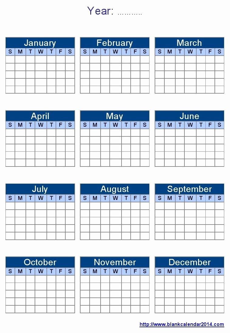 Full Year Calendar Template 2015 Inspirational 10 Best Of Editable 2015 Yearly Calendar 2015